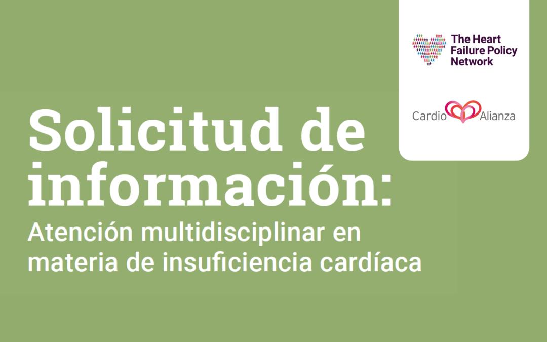 ¿Profesional sanitario o asociación de pacientes? Queremos conocer tu experiencia sobre la atención al paciente con insuficiencia cardíaca