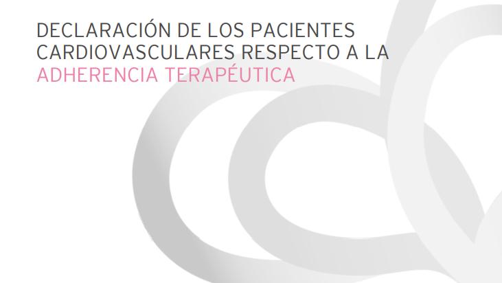 10 asociaciones de pacientes cardiovasculares europeas se unen para fomentar una mayor adherencia terapéutica
