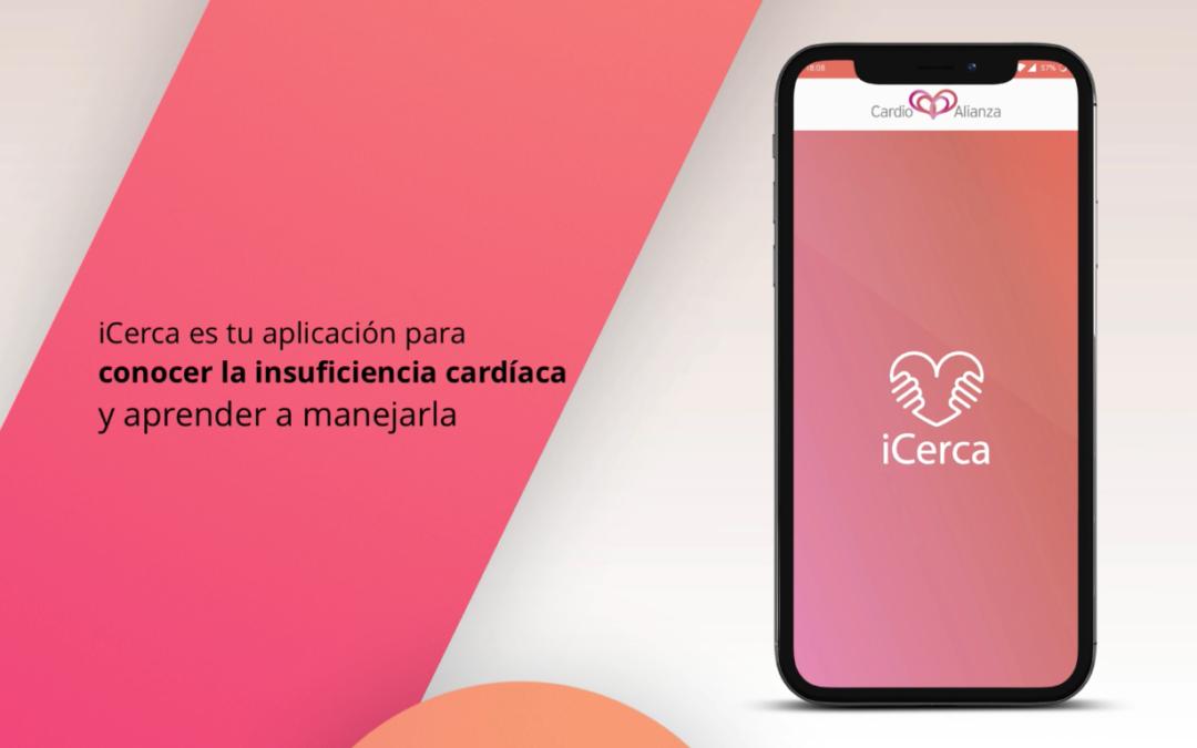iCerca, la primera APP educativa para pacientes con insuficiencia cardíaca