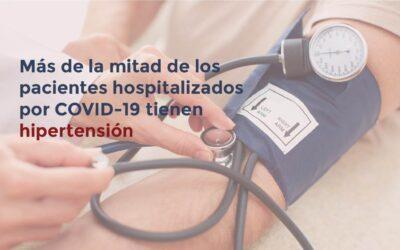 Asocian hipertensión con mayor riesgo de muerte por Covid-19