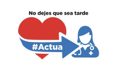 Si tu corazón te advierte #VeAlMédico, si tu corazón te necesita #Escúchalo, porque el tiempo es crucial #Actúa