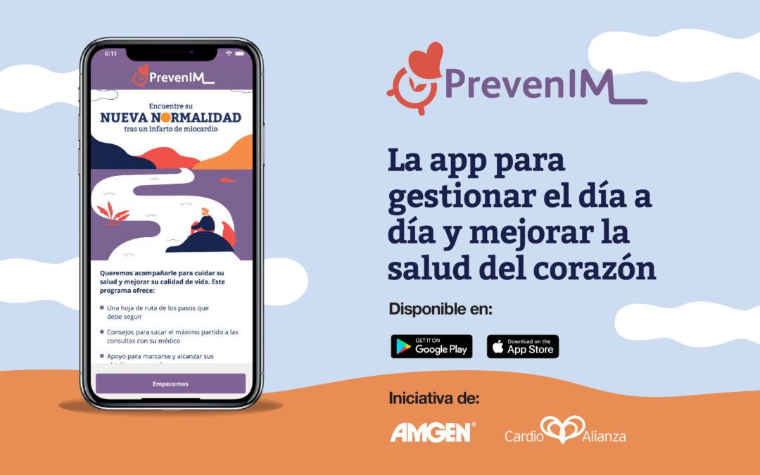 AMGEN y Cardioalianza lanzan la primera aplicación de apoyo y seguimiento a las personas que han sufrido un infarto