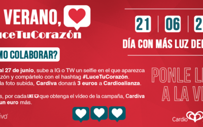 En verano, #LuceTuCorazón', una campaña para prevenir las enfermedades cardiovasculares